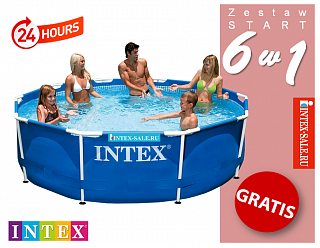 Бассейн каркасный Intex Metal Frame Pool, 305х76см 28200